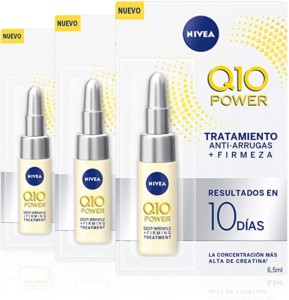 Nivea Q10 Power tratamiento antiarrugas – Pack de 3 x 6,5 ml