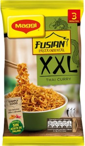 Maggi Pasta Oriental XXL Thai Curry – 185 gr