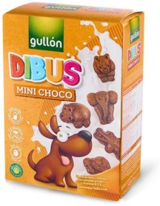 Galletas Gullón Dibus Mini Choco 250 gr