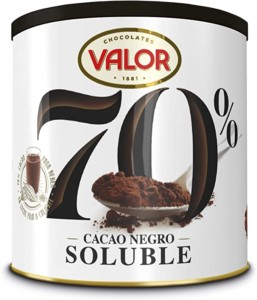 Cacao negro soluble en polvo – 300 gr