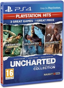 Uncharted Collection Hits PS4 (Importación inglesa)