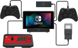 HORI – PlayStand Multipuerto USB (Nintendo Switch / Switch Lite)
