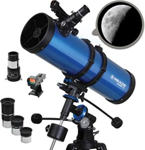 Telescopio Meade Polaris de 130 mm
