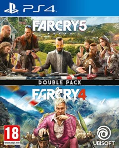 Far Cry 4 + Far Cry 5 para PS4