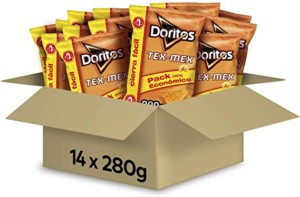 Doritos Tortilla Chips – Paquete de 14 x 280 gr – Total: 3920 gr