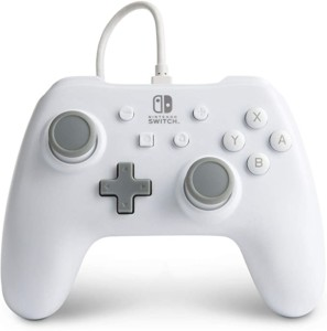 Mando blanco Power A para Nintendo Switch