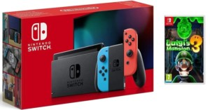 Pack Nintendo Switch + Juego Luigi's Mansion 3