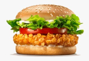 Crispy Chicken de Burger King por sólo 1€