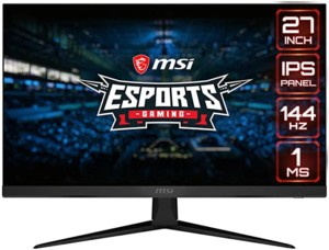 Monitor Gaming MSI Optix G271 de 27″ FullHD, 144Hz, IPS, FreeSync, 1 ms