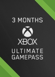 3 meses de Xbox Game Pass Ultimate
