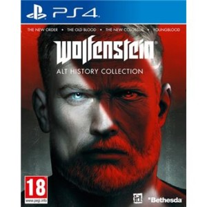 Wolfenstein Alt History Collection PS4 + cupón Fnac 10€