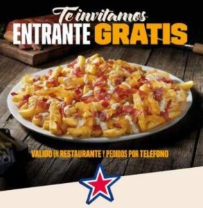 Entrante gratis en Foster's Hollywood