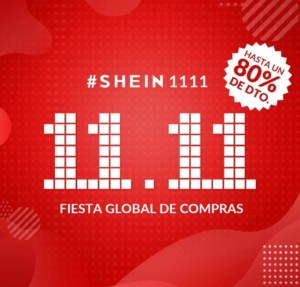 Hasta 80% en los Single's Day de SHEIN