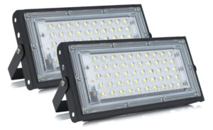 Pack de 2 focos LED impermeables IP65