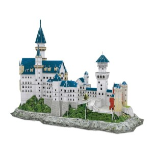 Puzzle 3D National Geographic Castillo Neuschwanstein