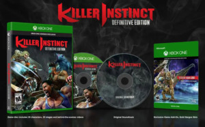 Killer Instinct Definitive Edition Xbox One + CD BSO Xbox One/Xbox Series X
