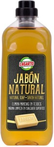 Lagarto Jabón natural líquido – Pack de 12 x 1000 ml