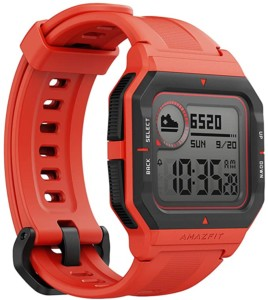 Smartwatch Amazfit Neo de color rojo