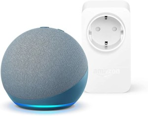 Altavoz inteligente Echo Dot de 4ª generación + Amazon Smart Plug