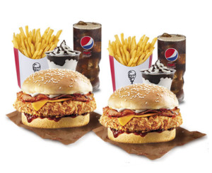 Doble menú + 2 mini Sundae a 9,99€ en KFC