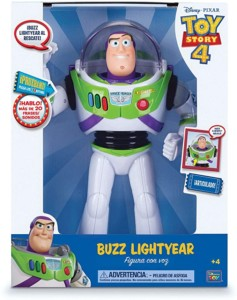 Figura Toy Story Buzz Lightyear con voces y sonidos