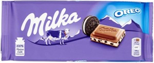 Milka Oreo Chocolate con leche y galletas Oreo – Tableta de 100 gr