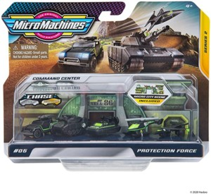 Micro Machines Protection Force World Pack