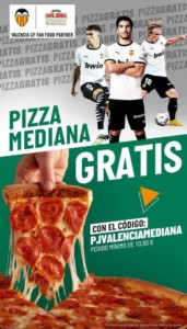 Pizza de regalo con tu pedido +10,95€