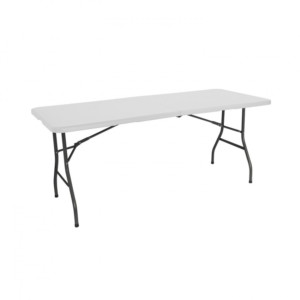 Mesa plegable rectangular de 240 cm
