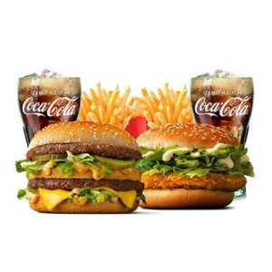 2 Menús Big Mac o McPollo por 7,90€