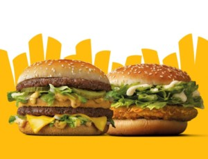 2 McPollo o 2 Big Mac por 4€