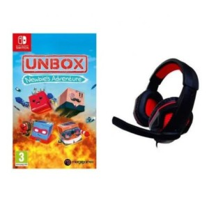 Unbox Newbie's Adventure Nintendo Switch + Auriculares Gaming Nuwa