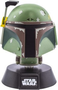 Lámpara casco Boba Fett de Star Wars