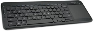 Teclado inalámbrico Microsoft All-in-One Media
