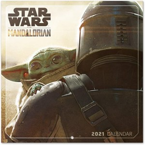 Calendario 2021 The Mandalorian Star Wars + póster