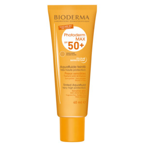 Bioderma Photoderm Max SPF50+ Aquafluido Color Dorado 40ml