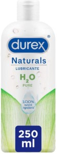 Lubricante 100% natural sin fragancia Durex Naturals H2O – 250ml