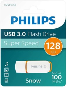 Pendrive Philips Snow USB 3.0 de 128 GB