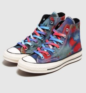 Converse Chuck 70 'Glen Plaid Tie-Dye' Women's
