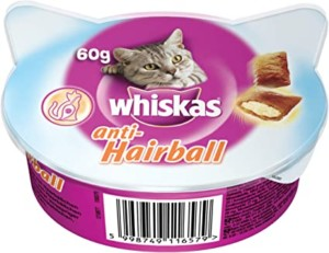 Whiskas Anti-Hairball para gatos – 60 gr