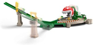 Hot Wheels Mario Kart Planta Piraña