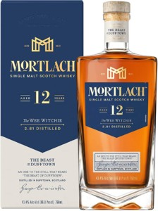 Mortlach 12 Años Whisky Escocés Single Malt – 700 ml
