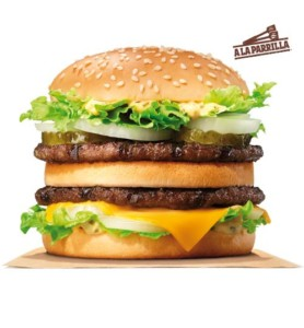 Hamburguesa Big King por sólo 1€