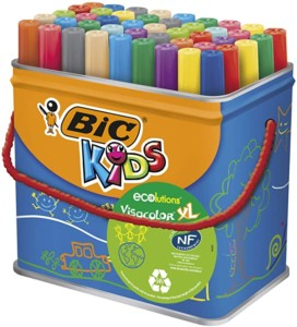 BIC Kids Visacolor XL 48 rotuladores lavables