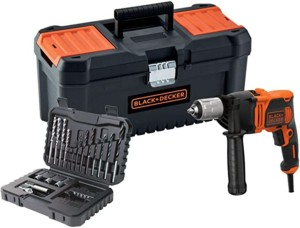 Set Taladro percutor Black+Decker BEH850KA32-QS