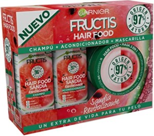 Pack Garnier Fructis Sandía Hair Food