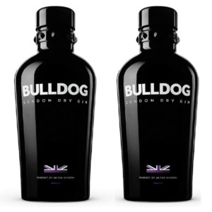 Bulldog London Dry ginebra (2 botellas de 1 litro)