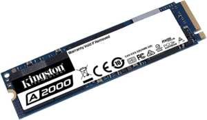 Disco duro SSD NVMe Kingston A2000 de 1TB