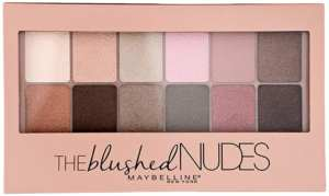 Paleta de sombras de ojos The Blushed Nudes Maybelline New York