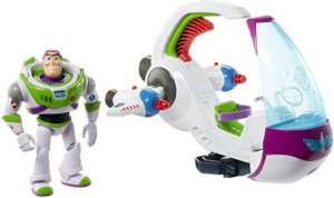Toy Story Buzz Lightyear con nave exploradora espacial